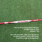 Project-X-HandCrafted-EvenFlow-MAX-CARRY-Red-Driver-Shaft-wTip-Grip-NEW