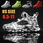 Men's Personality Sneakers Casual Breathable Running Shoes Sports Athletic Gym, used for sale  Shipping to Nigeria