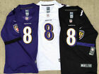 Mens and Youths Lamar Jackson #8 Baltimore Ravens Jersey stitched $27.99 USD on eBay