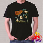 The Beatles Rock Band Legend Rubber Soul Men's Black T-Shirt Size S - 3XL image