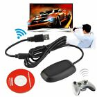 Black/ white PC Wireless Controller Gaming USB Receiver Adapter for XBOX 360 ?A