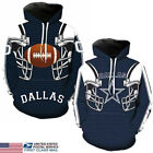 NEW Dallas Cowboys Sport Hoodie Sweatshirt Hooded Jumper Jacket Coat US STOCK $14.99 USD on eBay