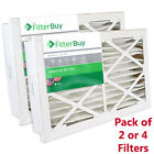 FilterBuy 16x25x5, AC Furnace Air Filters Grille Honeywell Compatible, MERV 8