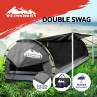 Weisshorn Double King Single Swag Camping Swags Canvas Dome Tent Hiking Beach