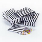 Black Candy Stripe Sweet Paper Bags Sweet Buffet Gift Party Bag Wedding Cake Bag