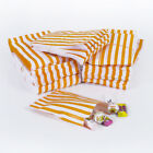 Orange Candy Stripe Sweet Paper Bags Buffet Gift Party Bags Wedding Cake Bag