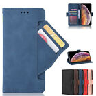 Luxury Leather Flip Magnetic Wallet Card Slot Pocket Stand Slim Phone Case Cover