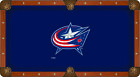 Columbus Blue Jackets Holland Bar Stool Co. Navy Billiard Pool Table Cloth $480.0 USD on eBay