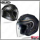 CASCO JET OPEN FACE DOPPIA VISIERA HJC IS-33 II APUS MC9SF