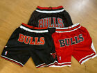 Chicago Bulls Pinstripe Black & Red Just Don THROWBACK Men's Basketball Shorts on eBay