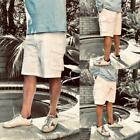 """POLO RALPH LAUREN Mens Relaxed Fit 10"""" Cargo Casual Walking Shorts White"""