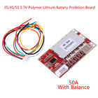 3S 4S 5S 37V Polymer Lithium Battery PCB BMS Charge Protection Board Balance bg