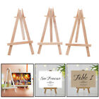 Wooden Wood Easel Stand Mini Table Desktop Art Wedding Photo Picture Display AU
