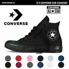 Converse Unisex Chuck Taylor Classic All Star Low/High Tops Canvas Trainers UK