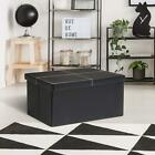 Folding Storage Ottoman Bench Toy Box/Chest Living Room Seat Foot Rest Storage
