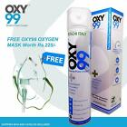 Oxy99 Portable Oxygen Cylinder/Can 6 ltrs/0.17 oz with mask - Free Shipping