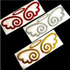 3d Red/gold/silver Guardian Wings Car Emblem Decal Sticker Truck Van Logo Co