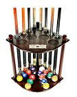 Cue Rack Only- 8 Pool Cue - Billiard Stick Holder Floor Rack Scratch + Dent $39.95 USD on eBay