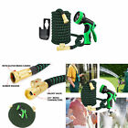 25Ft Expandable Water Garden Hose Expanding Flexible Hose with Strength StrW1Y8