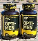OPTI-MEN (TWO bottles) Multi-Vitamins *Recently expired* $20.0 USD on eBay