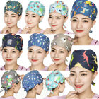 Doctor/Nurses Printed Cotton Scrub Cap Medical Surgery Surgical Hat Hair Cover