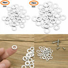 30Pcs Stainless Steel Stamping Blanks Flat Round Washer for Jewelry DIY Crafts