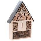 NEW Large/Medium Wooden Hanging Insect/Bug Hotel Metal Roof Bees Ladybirds House