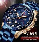 Brand New Luxury Men Top Brand Watches Fathers Day Gift Free Shipping SEE VIDEO image