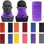 Unisex Multi-use Magic Tube Cycling Bandanna Head Face Mask Scarf Bandana Snood
