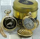 PIGEON Pocket Watch Engraved Personalised Racing Homing Fancier Shooting in Case