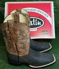 Justin Boots Men's 8590 Beige Boots Brand New with Box Free Shipping