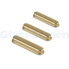 iPad mini 4 A1538 A1550 Power & Volume Buttons Set Gray Gold Silver 3 in 1