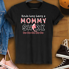 Kinda Busy Being A Mommy Shark Doo0 Best Shirt for Mothers Day Gildan
