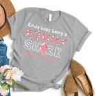 Kinda Busy Being A Mommy Shark Doo3 Best Shirt for Mothers Day Gildan