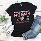 Kinda Busy Being A Mommy Shark Doo8 Best Shirt for Mothers Day Gildan