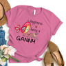 Happiness is being a ganny flower T-Shirt Gildan Mothers Day Gifts 10
