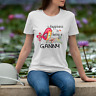 Happiness is being a ganny flower T-Shirt Gildan Mothers Day Gifts 11