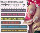 New stock! Color Street Nail Polish Strips with Free Twosie New in Package!
