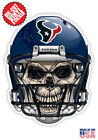 Houston Texans Skull Helmet NFL Football Sticker $3.99 USD on eBay