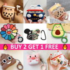 AirPods PRO Cute Animal Food Cartoon Silicone Case Skin Cover for Apple Airpod 3