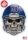 New York Giants Skull Helmet NFL Football Sticker $3.99 USD on eBay