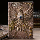 Retro Phoenix Embossed Notebook Relief Journal Notepad Diary Binders Student