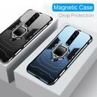 Внешний вид - For OnePlus Nord N10 8 Pro 7T 8T Armor Rugged Shockproof Magnetic Ring Hard Case