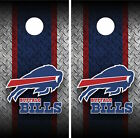 Buffalo Bills Cornhole Wrap Decal Stickers Vinyl Gameboard Skin Set YD573 $59.55 USD on eBay
