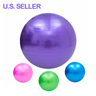 "Exercise Workout Yoga Ball For Sport Fitness Pilates Training Stretch 23"" 26"" 29 image"