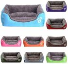 Waterproof Dog Bed Washable Hardwearing Puppy Pet Soft Cushion Basket Waterproof