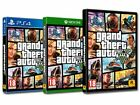 Grand Theft Auto V (gta 5) Game Xbox One/ps4/rock Star Games (pc) Fast Delivery