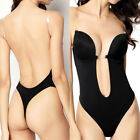 Invisible Seamless U-shaped Deep V Underwear Backless Bra Wedding Drese Supplies