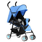 Foldable Baby Stroller Kid Safety Travel Infant Pushchair Lightweight High  #