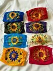 Beautiful Mexican Face Mask Embroidered-SUNFLOWER Reusable Washable cubre boca